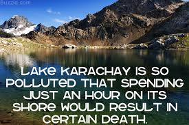 lake karachay the most polluted spot on earth