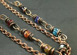 copper colored chain necklace images 161 best twisted by design wire wrapped jewelry images on jpg
