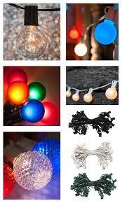 Christmas Patio Lights by Globe Lights