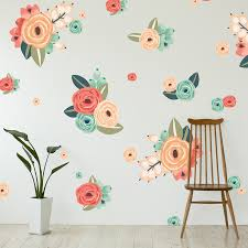 Flower Wall Decals For Nursery by Graphic Flower Cluster Wall Decals U2013 Shop Project Nursery