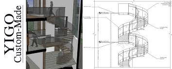 used metal curved stairs round staircase foundation for stairs