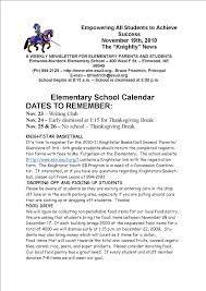 thanksgiving newsletter elmwood newsletter november 24 2010
