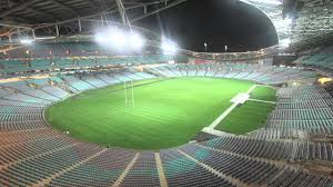 the transformation of anz stadium from afl to nrl field youtube