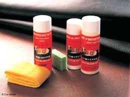 nettoyer fauteuil cuir produit nettoyant cuir canape comment