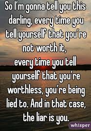 i m gunna a time so i m gonna tell you this every time you tell yourself