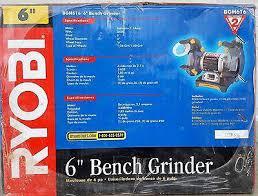 Ryobi Bench Grinder Price Ryobi 6 Inch Bench Grinder Home Depot Ryobi 6 Thin Line Bench