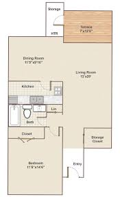 Charleston Floor Plan by Boothwyn Apartment Floor Plans And Rents