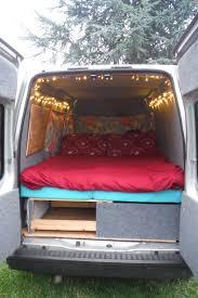 ford transit connect camper pkg diy campervan van cabinets ford