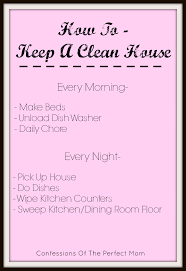 how to keep a clean house confessions of the perfect mom