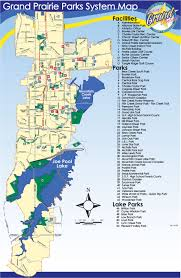 Lake Pleasant Map City Park Sites Central City Of Grand Praire Parks And Recreation