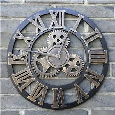well turned large garden wall clocks ideas pallet art inspiration