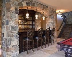 Basement Bar Design Ideas Inspirations Basement Bar Stone With Stone Bar Home Design Ideas