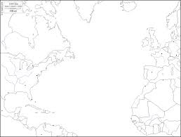 World Map Blank Map by Northern Atlantic Ocean Free Map Free Blank Map Free Outline