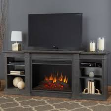 Propane Fireplace Tv Stand by Real Flame Wayfair
