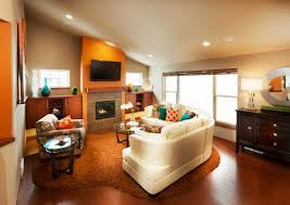 home design chic veridian homes living room design with cute sofa