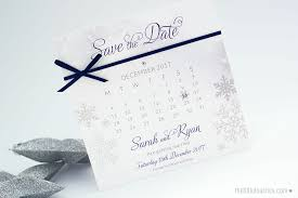 calendar save the date winter snowflake calendar save the dates the touches