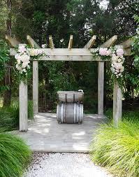 wedding arches nz ceremony venue blossom wedding flowers