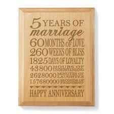 five year wedding anniversary gift 5 year wedding anniversary gift ideas for wedding gifts