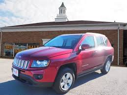 jeep crossover 2015 2015 jeep compass latitude for sale salem oh 2 0 4 cylinder red