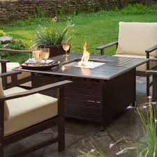 Bar Height Fire Table Decorations Exterior Magnificent Fire Pit Table Set Ideas For
