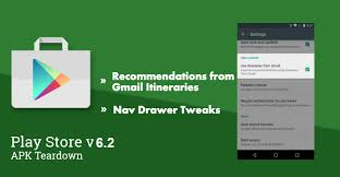gmail update apk play store v6 2 update is live with app recommendations from our