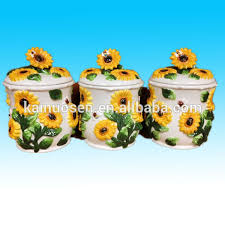 sunflower kitchen canisters sunflower canister set sunflower canister set suppliers and
