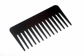 tooth comb the bigger the teeth the better the hair day vervehumanhair