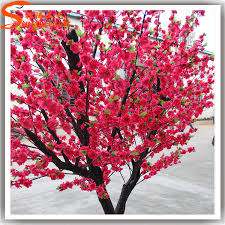 high quality silk and look like real artificial cherry blossom