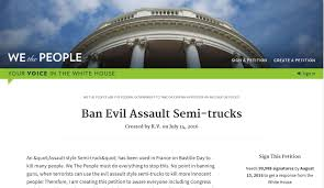 used semi trucks ban assault trucks now imgur