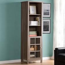 How To Make A Corner Bookshelf Bookcases With Doors You U0027ll Love Wayfair