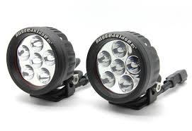 round led driving lights rugged ridge 3 5 round led driving lights pair 15209 01 x 2