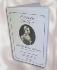 funeral booklet funeral booklets funeral service in ilford uk
