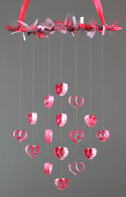 Valentines Day Decor Heart Mobile Tutorial Time To Create Valentine Heart Craft