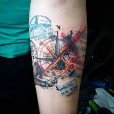 travel tattoos images 50 inspiring travel tattoos for travel addicts pinay nomad jpg