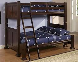 acme furniture twin over twin bunk bed in espresso 12600 5