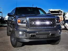 led lights for 2014 gmc sierra gmc sierra 1500 led light mounts brackets by rigid industries