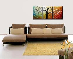 Amazon Phoenix Decor Abstract Canvas Wall Art Oil Paintings