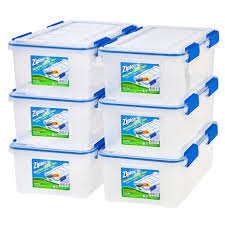 iris storage bins totes storage organization the home depot
