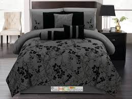 Black And Red Bedroom by Bedroom Terrific Black And Gray Bedding Sets For Full Size Bed