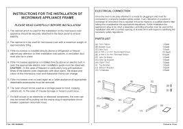 lg mk2030f 30 inch microwave built in trim kit