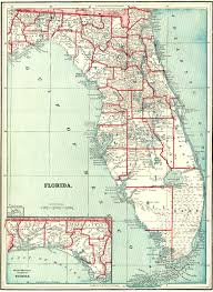 Polk County Florida Map by Florida Maps