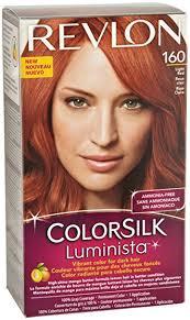 hair color for dark hair to light amazon com revlon colorsilk luminista haircolor light red
