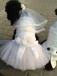 dog wedding dress custom made dog wedding dress made of ivory white tulle and