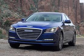 hyundai genesis 2015 hyundai genesis sedan drive motor trend
