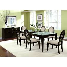 Glass Extendable Dining Table And 6 Chairs Extendable Glass Dining Table Set Italiamici Info