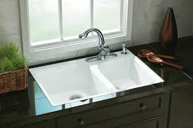 Dropin Kitchen Sink A Perfect Fit For Tile Countertop The - Drop in kitchen sinks