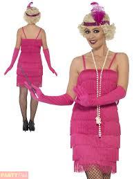 ladies charleston flapper costume adults 1920s gatsby fancy dress