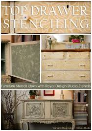 kitchen stencil ideas 480 best stenciled and painted furniture images on