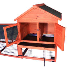 Outdoor Rabbit Hutch Plans Amazon Com Trixie Pet Products Rabbit Hutch With Outdoor Run And