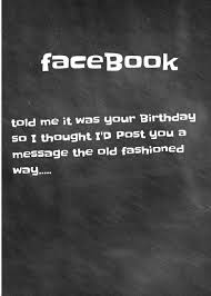 belated birthday card facebook humour send free cards here www